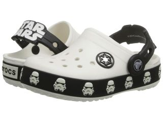 Crocs Kids Star Wars Lighted Stormtrooper Clog Boys Shoes (White)