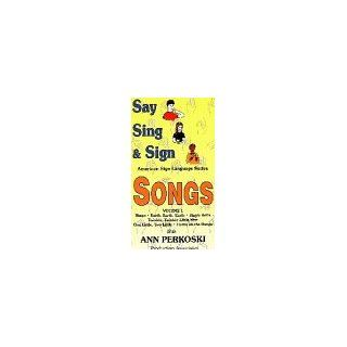 Say Sing & Sign Songs Volume 1 [VHS] Say Sing & Sign Movies & TV