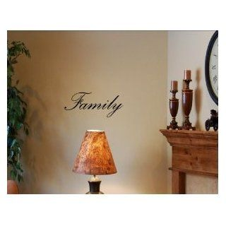FAMILY Vinyl wall art quotes and sayings home decor decal [Kitchen]   Wall Decor Stickers