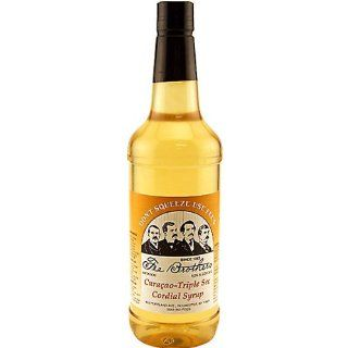 Fee Brothers Curacao   Triple Sec Syrup   32 oz  Cocktail Drink Bitters  Grocery & Gourmet Food