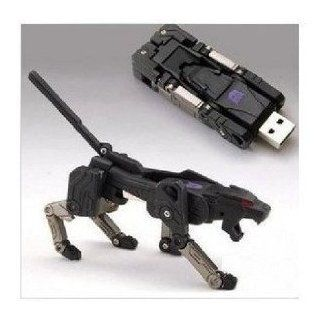 32 Gb USB Memory Stick Flash Pen Drive Black Leopard Transformer Computers & Accessories