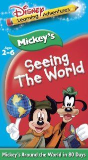 Disney's Learning Adventures   Mickey's Seeing the World [VHS] Walt Disney Movies & TV