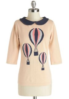 In My Beautiful Balloon Top  Mod Retro Vintage Sweaters