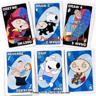 Family Guy UNO Card Game in Colorful Collector's Tin Toys & Games