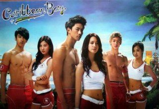 Girls' Generation 2PM Caribbean Bay POSTER 34 x 23.5 Korean boy band girl group TV SNSD Girl's Girls 2 PM p.m. Yuri (sent from USA in PVC pipe)  Prints