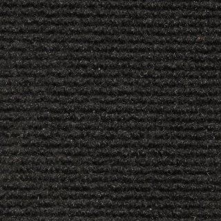 Indoor/Outdoor Carpet with Rubber Marine Backing   Black 6' x 10'   Several Sizes Available   Carpet Flooring for Patio, Porch, Deck, Boat, Basement or Garage   Area Rugs