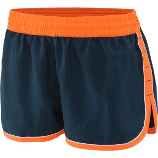 UNDER ARMOUR Womens Great Escape II Running Shorts   Size Medium, Citrus