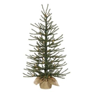Vickerman 4 ft. Canadian Pine Full Unlit Christmas Tree   Christmas Trees
