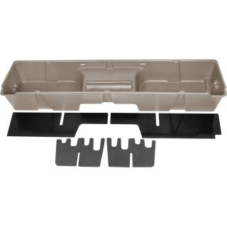 DU-HA Truck Storage System — Chevrolet Silverado Extended Cab (Classic), Fits 1999-2007 Models, Tan, Model# 10003  Interior Storage