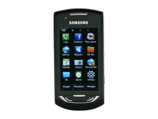 Samsung Monte Black Unlocked GSM Touch Screen Phone with 3.15MP Camera / WiFi / GPS (S5620)