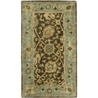 Safavieh Antiquity Brown/Green 2 ft. 3 in. x 4 ft. Area Rug AT21G 24