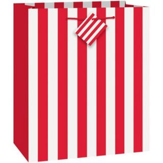 Red Striped Gift Bag