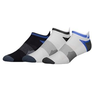 ASICS� Quick Lyte Single Tab 3 Pack Socks   Mens   Running   Accessories   New Blue/Slate
