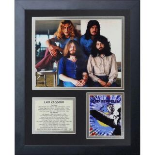 Legends Never Die Led Zeppelin Framed Memorabilia