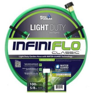Ray Padula InfiniFlo Classic 5/8 in. Dia x 100 ft. Light Duty Garden Hose RP IFLD 2