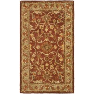 Safavieh Golden Jaipur Rust/Green 2 ft. 3 in. x 4 ft. Area Rug GJ250E 24