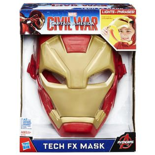 Disney Captain America Civil War Iron Man Tech FX Mask   Toys & Games
