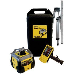 Stanley FatMax RL250GR Self Leveling Horizontal Laser Level Kit with