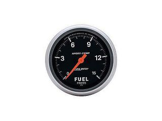 Auto Meter Sport Comp Electric Fuel Pressure Gauge
