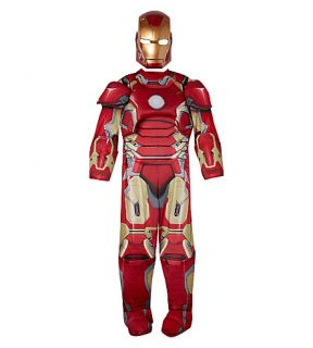 MARVEL AVENGERS   Iron Man deluxe dress up set L