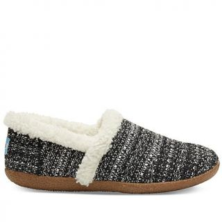 TOMS Faux Fur Trimmed Slipper Womens   7963855