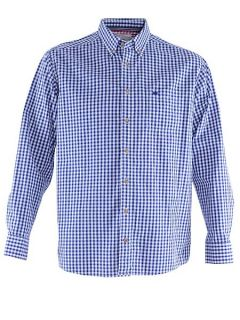Double TWO Bar harbour casual shirt Navy