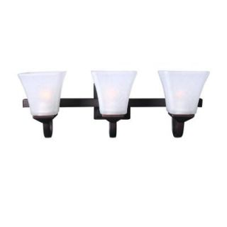 Design House Torino 3 Light Brushed Bronze Indoor Vanity Light 577445