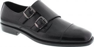 Mens Deer Stags Colin Monkstrap   Black