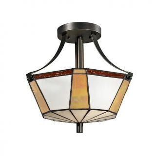 Dale Tiffany Visalia Semi Flush, Ceiling Mounted Lamp   7244870