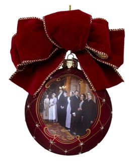Kurt Adler Downton Abbey Glass Ornament