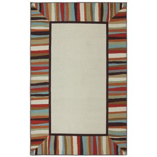 Patio Border Rainbow Outdoor Area Rug by Mohawk Home