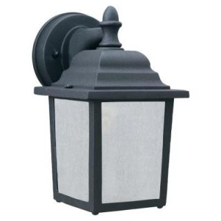 Thomas Lighting Covington 1 Light Black Outdoor Wall Mount Lantern PL94237