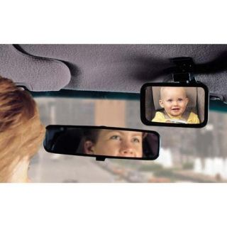 Dorel Juvenile Safety 1st Deluxe Baby View Mirror   Black 48919