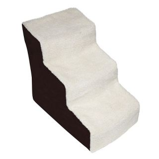 Pet Gear Easy Step III Deluxe Soft Step   Chocolate