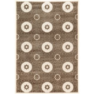 Oh Home Prisma Karma Dark Brown Rug (53 inch x 76 inch)   17340916