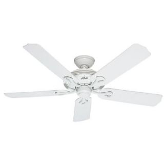 Hunter Mariner 52 in. Indoor/Outdoor White Ceiling Fan 59127