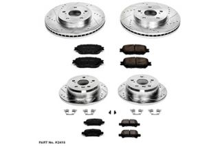 2002 Toyota Camry Performance Brake Kits   Power Stop K2415   Power Stop Z23 Brake Kit