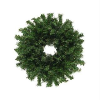 "24"" Canadian Pine Artificial Christmas Wreath   Unlit"