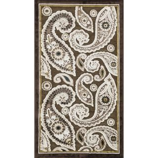 Madison Dark Brown Rug (23 x 39)