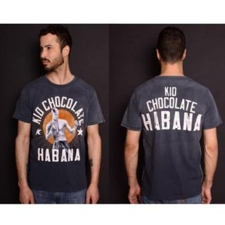 Roots of Fight Kid Chocolate Habana T Shirt   3XL   Charcoal