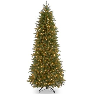 Feel Real Jersey Fraser Pencil Slim Fir Hinged 7.5 foot Tree with 650