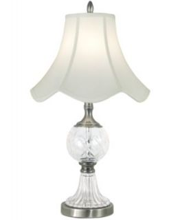 Dale Tiffany Lighting, Slender Crystal Table Lamp