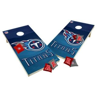 Tennessee Titans Tailgate Toss 2x4 Platinum Shield