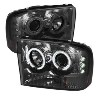 2000 2004 Ford Excursion Headlights   Spyder PRO YD FF25099 1P G2 CCFL SM   Spyder Headlights