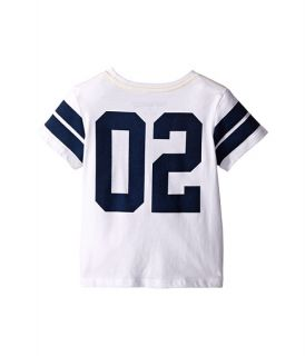 True Religion Kids Varsity Paneled Tee Shirt (Toddler/Little Kids) White
