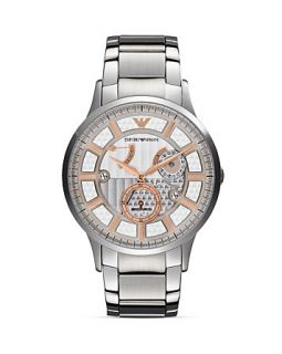 Emporio Armani Renato Stainless Steel Watch, 43mm