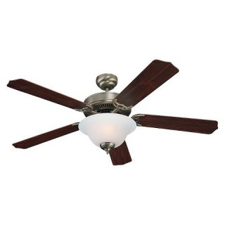 Sea Gull Lighting Ceiling Fan   Antique Brushed Nickel
