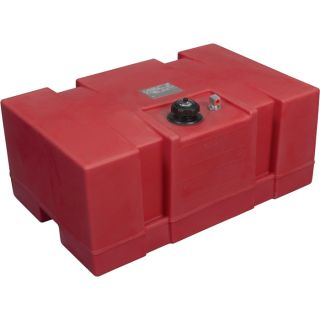 Moeller Marine Rectangular Topside Fuel Tank — 24 Gallon, Model# 031526  Transfer Tanks
