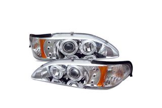 1994 1998 Ford Mustang Headlights   Spyder PRO YD FM94 1PC AM C   Spyder Headlights