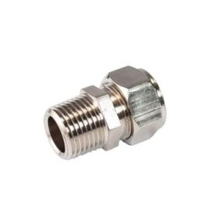 RapidAir MaxLine 1/2 in. x 3/8 in. Brass Compression Male Adapter M8001